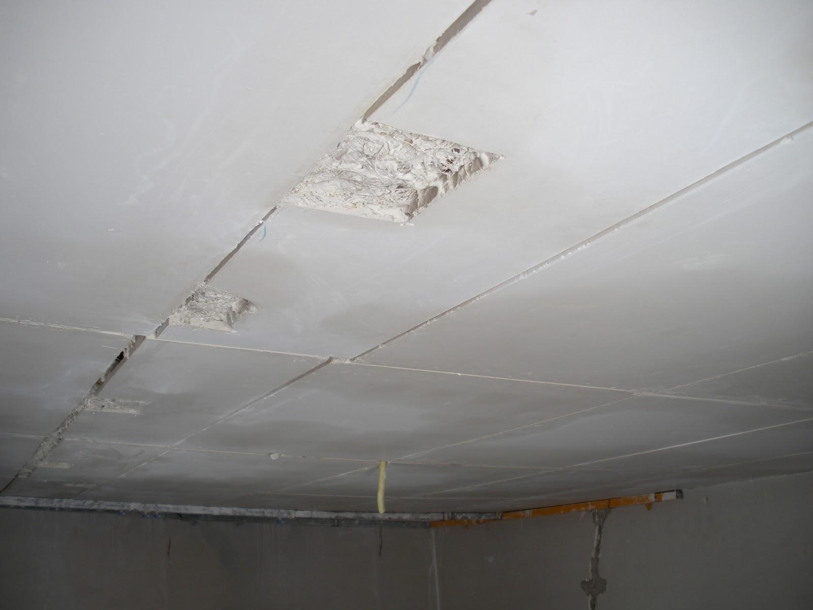 reparar techo escayola