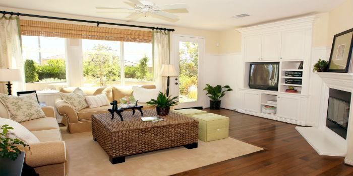 Casas modernas, interiores